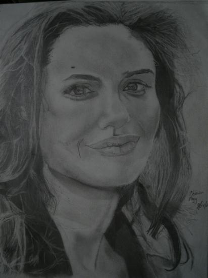 Angelina Jolie por shawnx24